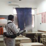 El Municipio realiza operativos de desinfección en  diferentes instituciones  de la ciudad